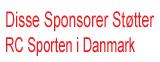 Disse Sponsorer Støtter RC Sporten i Danmark